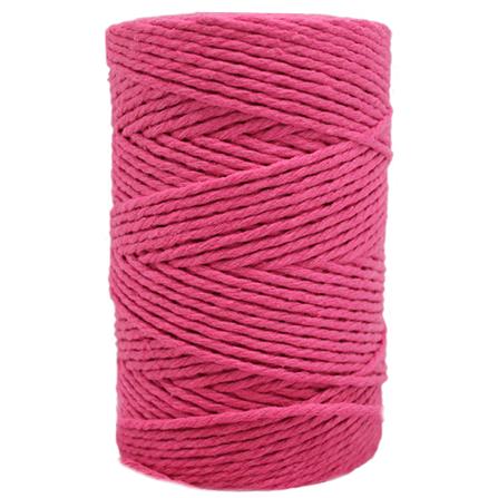 Cordao de algodao rosa