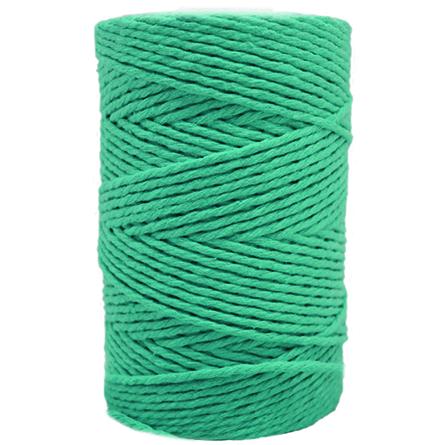 Cordon de algodon verde