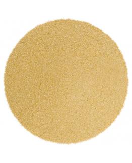Areia de cor amarelo pêssego