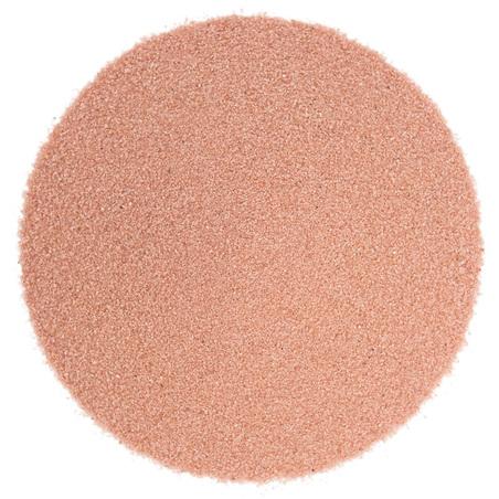 Areia de cor rosa claro