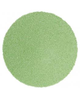 Areia de cor verde pastel