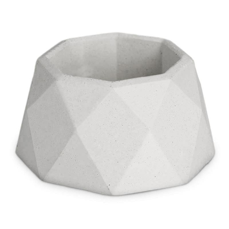 Molde mini portavelas octogonal
