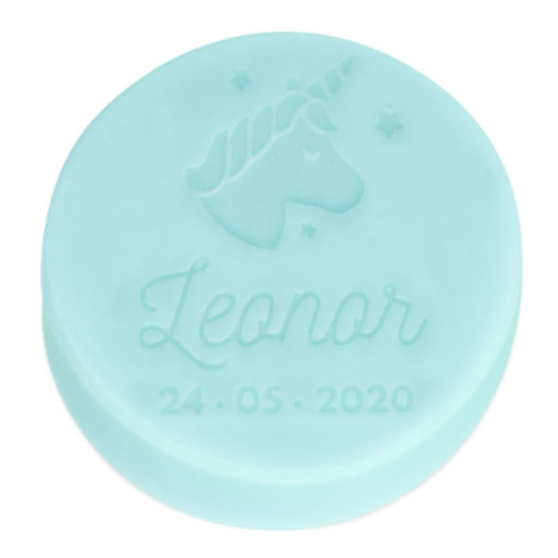 Molde unicornio para personalizar