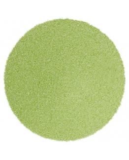 Arena fina verde pistacho