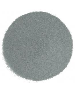 Areia de cor cinza escuro