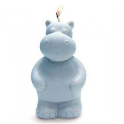 Molde velas hipopotamo 3d