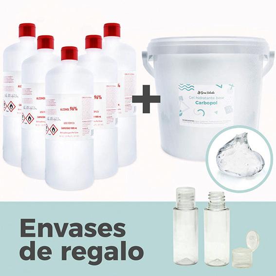Pack para hacer 8300 ml de desinfectante de manos