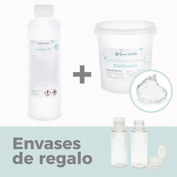 Pack para hacer 400 ml de desinfectante de manos