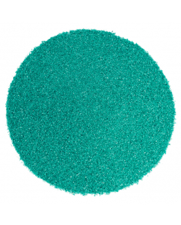 Areia de cor verde esmeralda