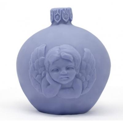 "Molde para fazer velas natal ""Bola de Natal"""
