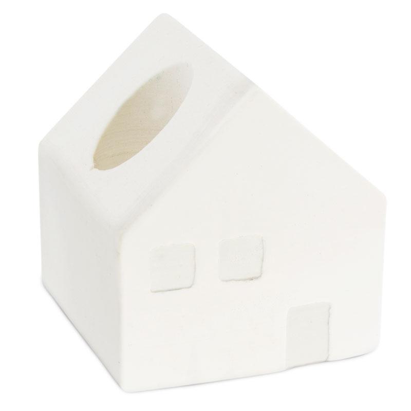 Molde portavelas casa pequeña