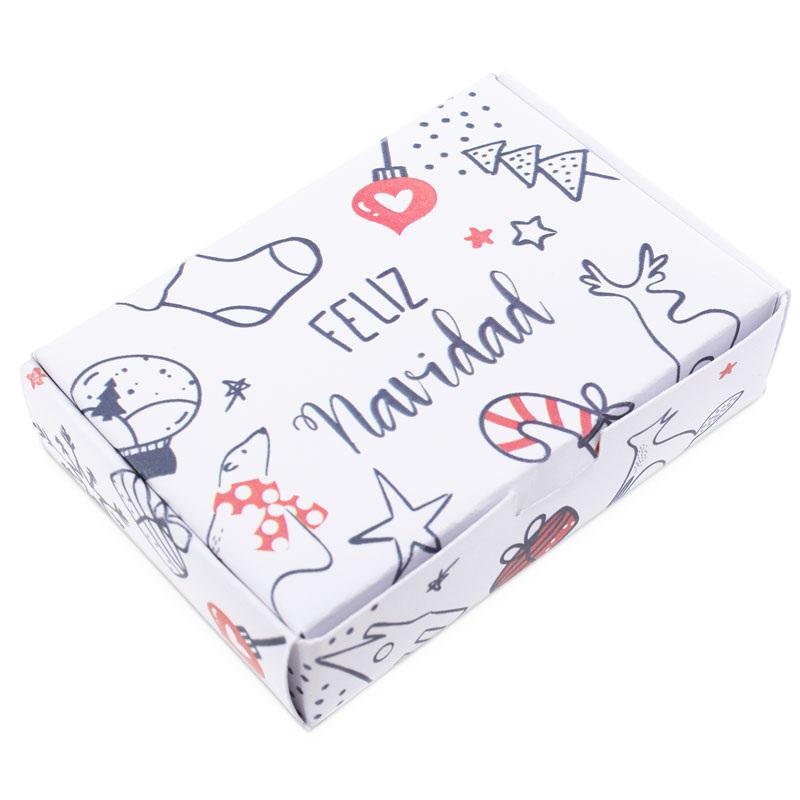 Caixa de natal para sabonetes