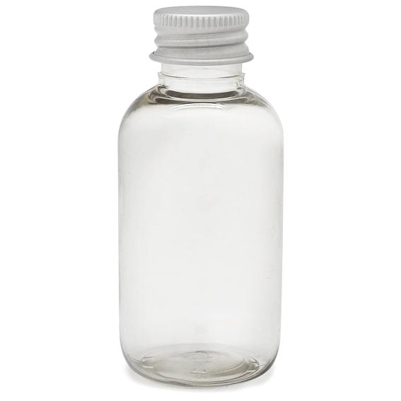 Botella pet boston 55 ml rosca aluminio por mayor