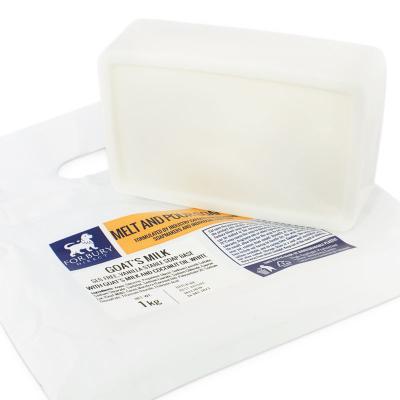 Sabonete base de leite de cabra