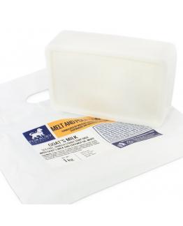 Jabon base de leche de cabra