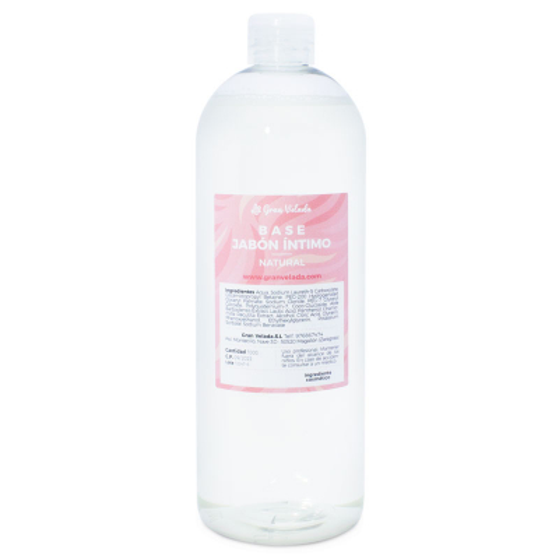 Base natural para sabonete intimo