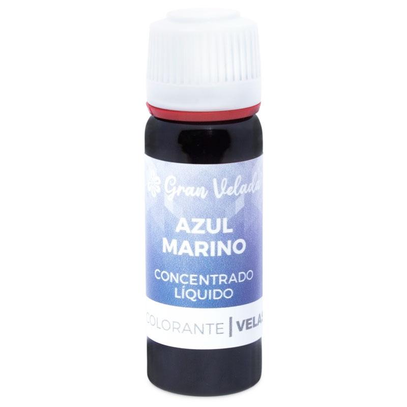 Corante azul marinho concentrado liquido para velas