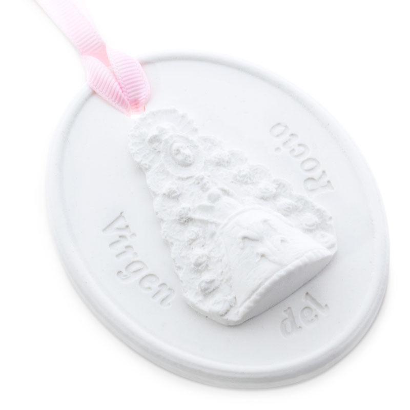 Molde medallon virgen del rocio