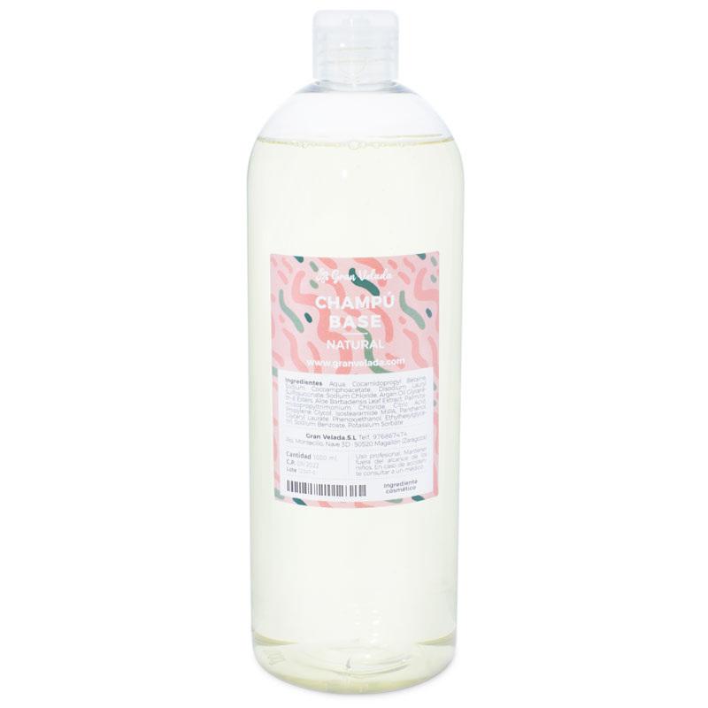 Xampu base natural