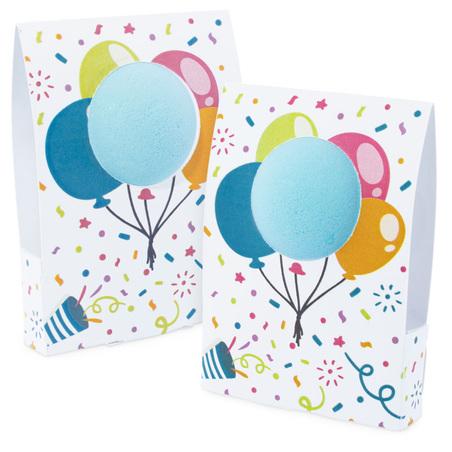 Caja globos para bombas de baño