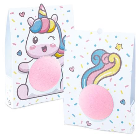 Caja unicornio para bombas de baño