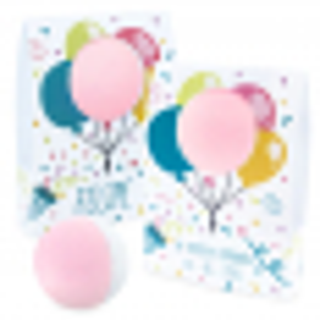 Caja personalizada globos para bombas de baño