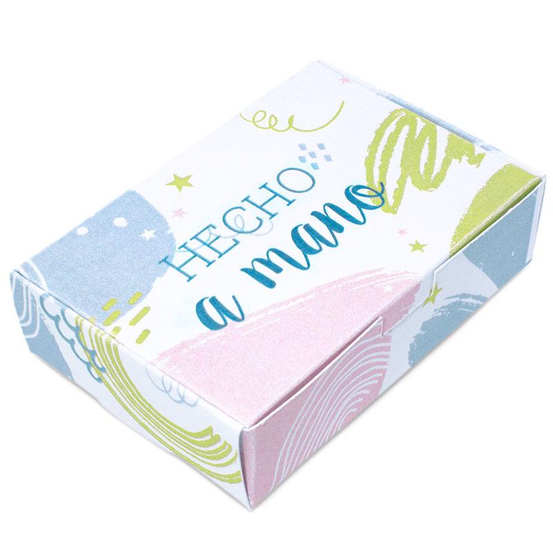 Caja para jabones de colores