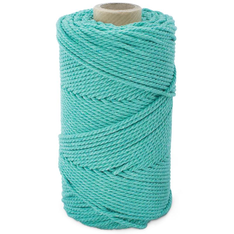 Cordon de algodon color mint