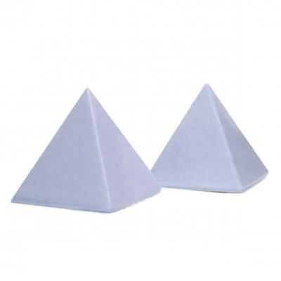 Molde 2 piramides pequeñas silicona 4,5x4,5 cm