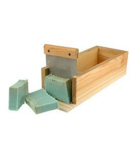 Cortador de sabão em madeira