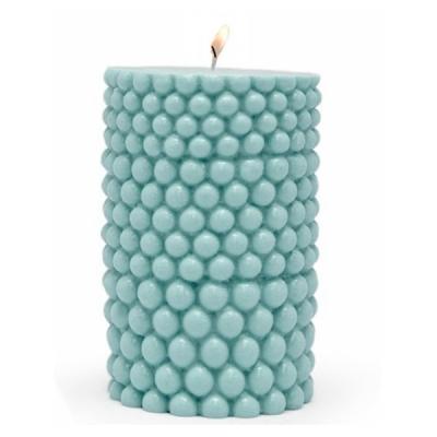 Molde para hacer velas cilindro bolitas