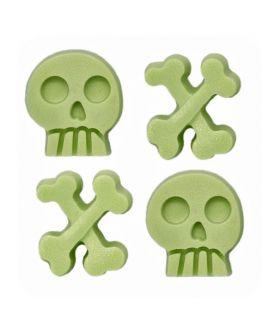 Molde halloween Calaveras y huesos