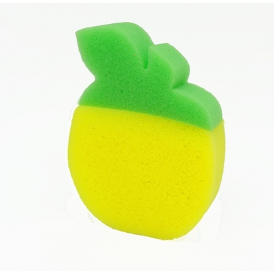 Esponja de banho formato limao