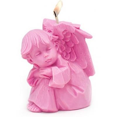 Molde para hacer velas angel dormido