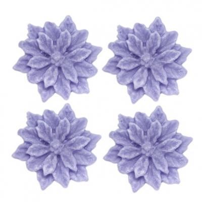 Molde para fazer 4 sabonetes Flores de Páscoa