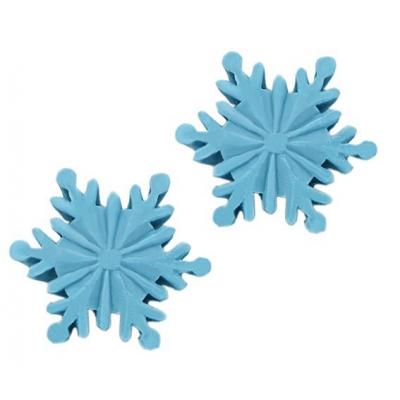 Molde estrela de neve para velas