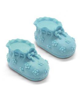 Zapatitos de Bebé, molde jabones para bautizo