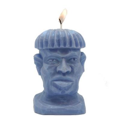 Molde de silicona cabeza de indigena