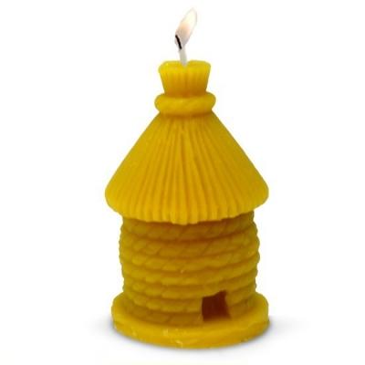 Molde casita Redonda para hacer velas de cera de abejas