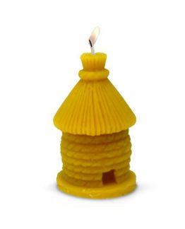 Molde Apícola Casinha Redonda, para fazer velas de cera de abelhas.