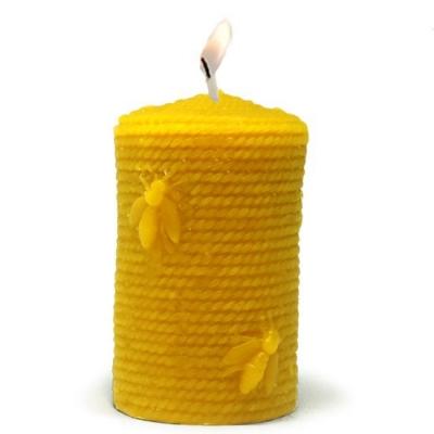 Cirio com Abelinhas, molde para fazer velas