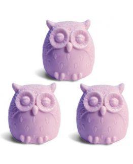 3 corujas, molde para fazer sabonetes