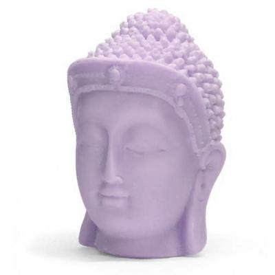 Buda com Coroa 1, molde para fazer velas