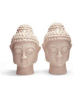 Molde 2 Cabeças Buda Gêmeas Grandes.