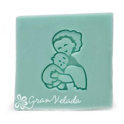 Carimbo para sabonetes recém-nascido