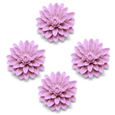 Molde para fazer sabonetes, 4 flores chinesas