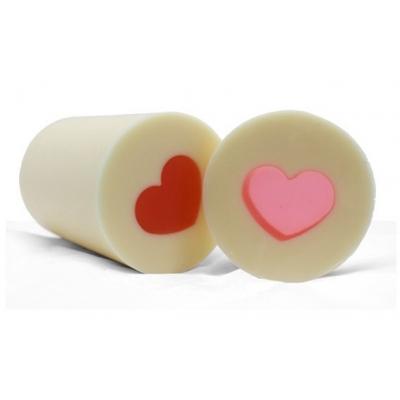 Molde tubular inclusão Coração Gordinho