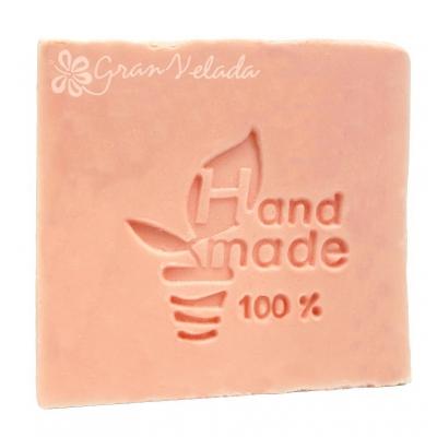 Carimbo para sabonetes feito a mão DIY