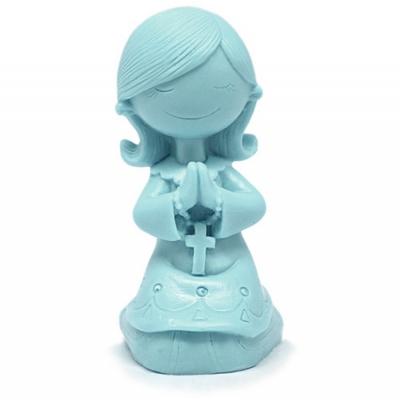 Molde de comunhao menina orando