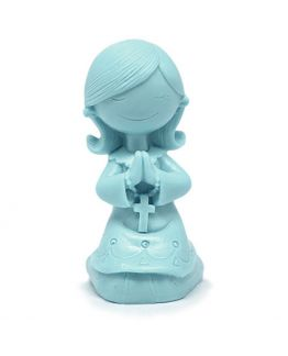 Molde niña de comunión rezando